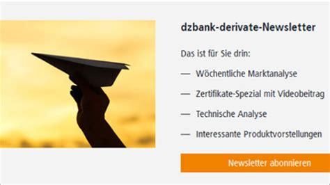 dz bank derivate derivateportal dzbank derivate de