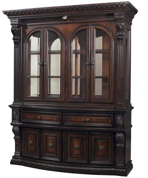 display china cabinets furniture fairmont designs grand estates china cabinet hutch royal