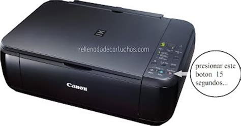 reset canon printer to factory default how to reset your canon pixma mp280 printer en rellenado