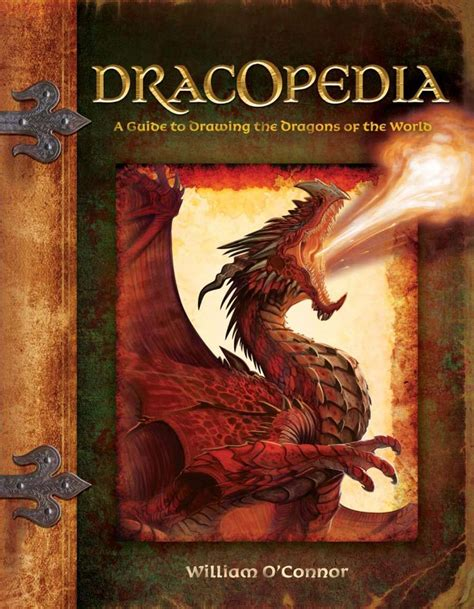 dragons and books dracopedia a guide to drawing the dragons of the world
