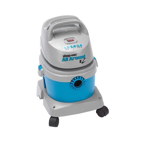 all around vacuum cleaner shop vac all around ez 1 5 gallon vacuum cleaner