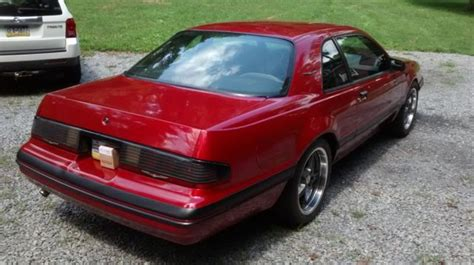 1987 Ford Thunderbird Turbo Coupe 1987 Ford Thunderbird Turbo Coupe 2 3l For Sale Photos