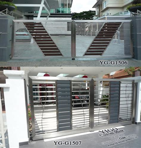 gates and steel fence design modern iron gate buy gates