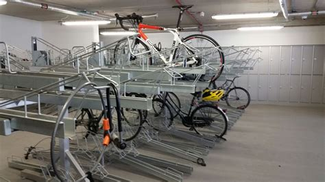 Two Tier Bike Rack by Two Tier Bike Rack With Gas Strut Bds