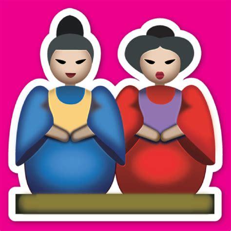 china doll emoji japanese emojis explained