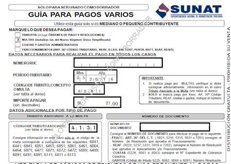 cuanto es la multa por declarar fuera de plazo 2016 multas por no declarar dentro del plazo establecido sunat