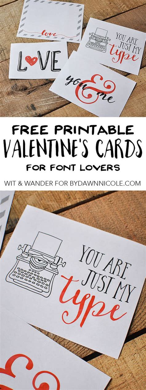 free printable valentines fonts free printable font lovers valentines day cards