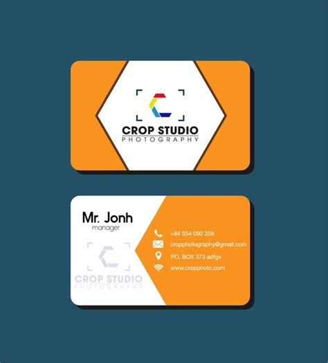 name card design template cdr name card free vector 12 712 free vector for