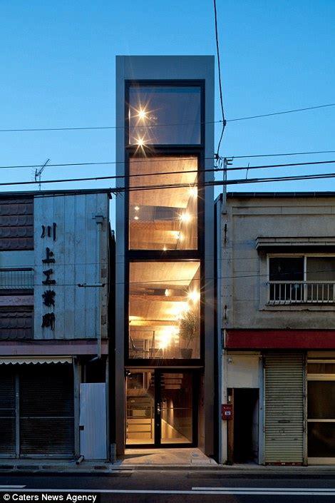 japan skinny house japan property measuring eight feet wide built in between