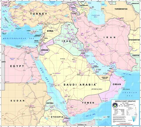 us air force bases in africa map large detailed middle east graphic map with all air force