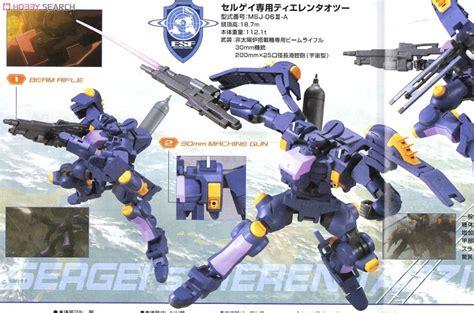 Gundam Msj 06iii A Sergei S Tieren Taozi Hg Scale 1 144 hg1 144 msj 06iii a 鐵人式全領域對應型 模型和玩具 伊莉討論區