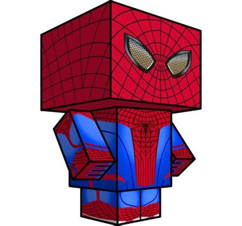 Amazing Paper Craft - the amazing spider papercraft 2012 version