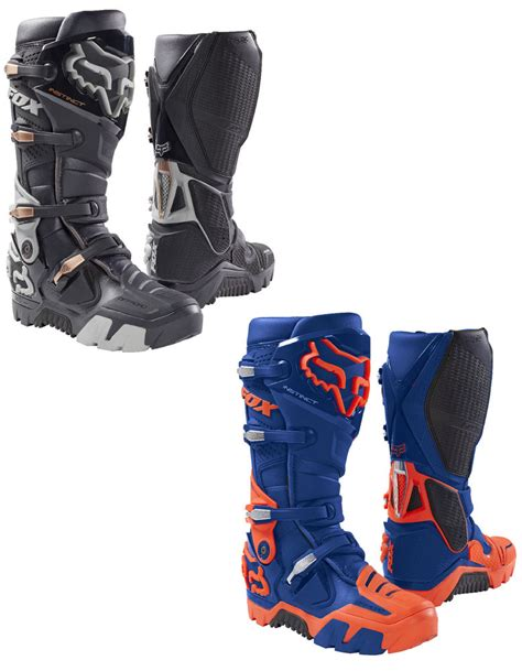 dirt bike racing boots fox racing mens instinct road dirt bike boots 2017 atv