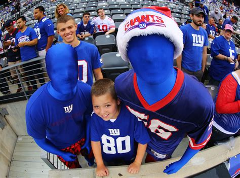 york giants fans nfl 5 teams with the best fanbases
