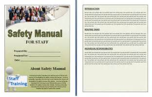 safety manual template sle safety manual templates