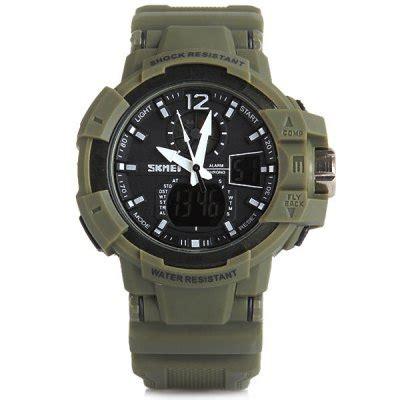 Skmei Jam Tangan Digital Analog Ad1040 Jam Pria skmei jam tangan digital analog pria ad1040 army green jakartanotebook