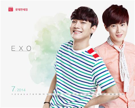 free download mp3 exo december 2014 exo for lotte duty free s wallpaper 2014 calendar