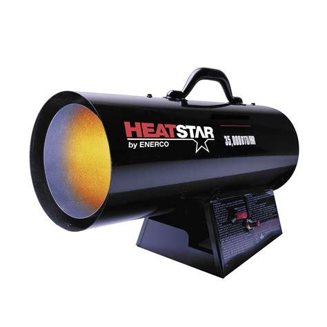 forced air gas heaters hs35fa forced air propane heater heatstar