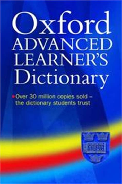 Oxford Advanced Dictionaryas Hornby oxford advanced learner s dictionary of current dictionary open library