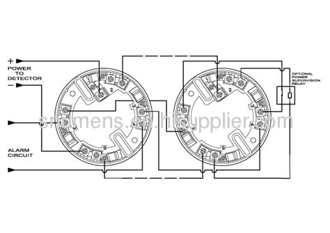 4 wire relay output function conventional smoke detector