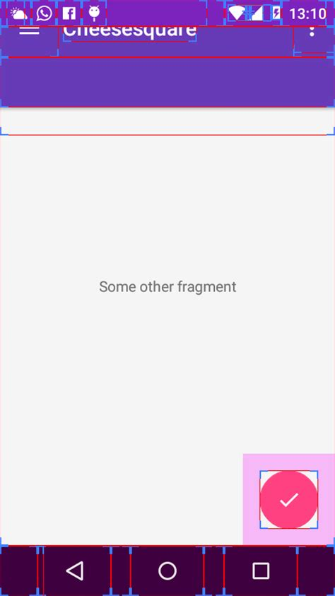 reset android fragment android how to reset the toolbar position controlled by