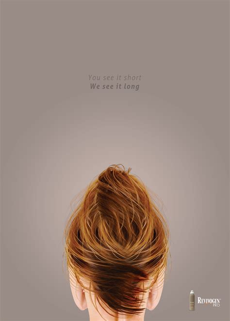 hair ads revivogen print advert by rabhole hair care ads of the