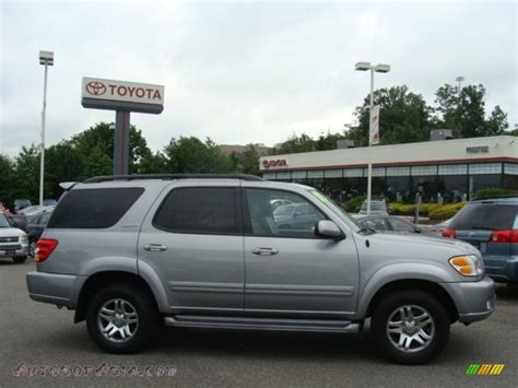2003 Toyota Sequoia 2003 Toyota Sequoia Limited 4wd In Silver Sky Metallic