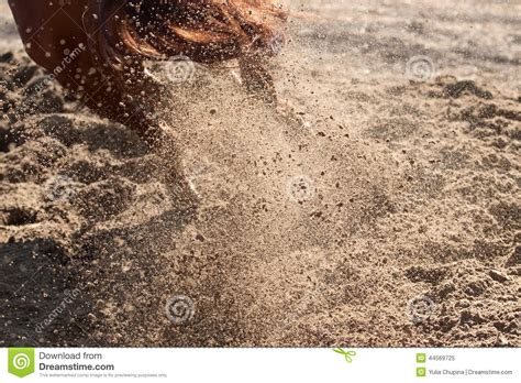 sand and dust hooves stock image image 44569725
