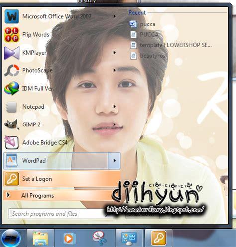 download theme windows 7 exo k free theme for windows 7 update kai exo k windows 7 theme