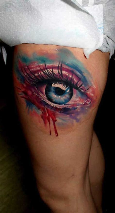 watercolor tattoo eye 25 best ideas about eye tattoos on best