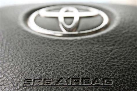 Airbag Recall Toyota Toyota Airbag Recall Update For November 2014 Product