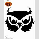 Owl Pumpkin Stencils | 680 x 880 gif 18kB