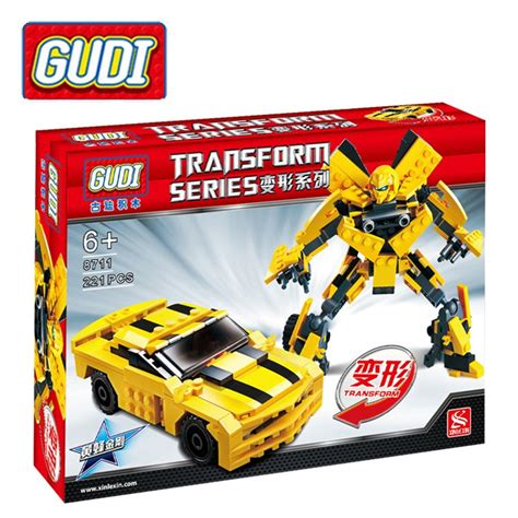 Micro Block Transformer Bumble Bee bumblebee transformer car reviews shopping