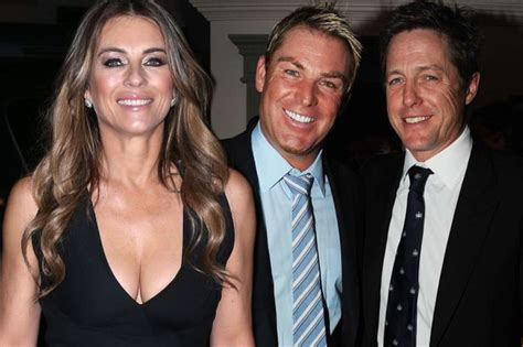 Why Ex Hugh Grant Didnt Show For Lizs Wedding by Shane Warne News Views Gossip Pictures