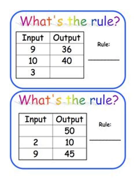pattern rule for multiplication chart worksheetplace com input output multiplication