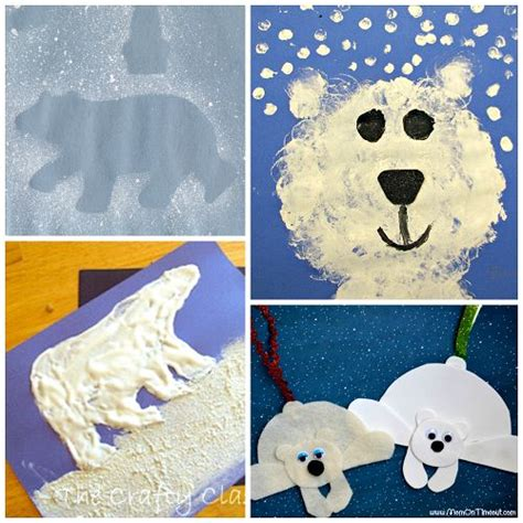 Winter Animal Crafts - 312 best images about polar animals on crafts