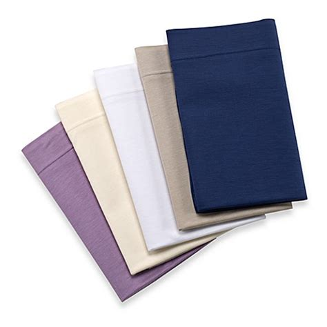 bed bath and beyond sheet sets eucalyptus origins jersey knit sheet set bed bath beyond