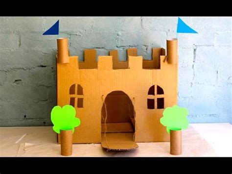 How To Make A Tower With One Of Paper - how to make your own cardboard play castle