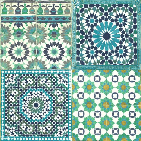kinderzimmer blau turkis grandeco design vliestapete mosaik blau t 252 rkis gr 252 n bei