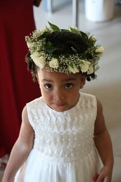 Black Flower Girls Hairstyles For Weddings   hairstyles for flower girls black thirstyroots com