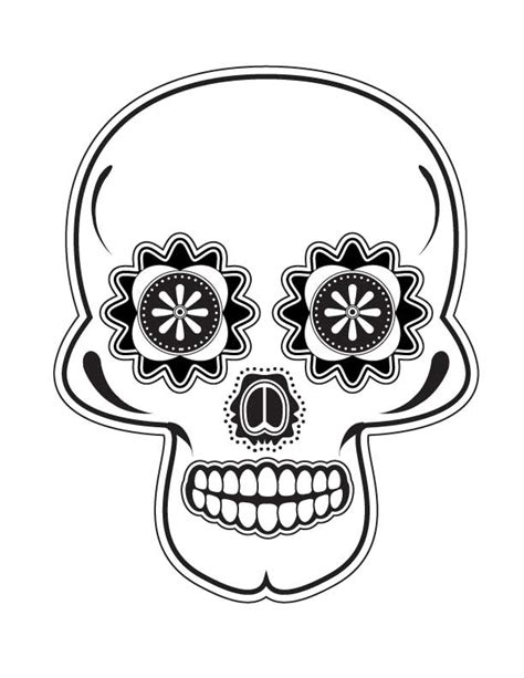 dia drawing dia de los muertos skull by subatomiclaura on deviantart