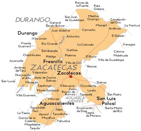 map of mexico zacatecas zacatecas news reports of the last 8 days mexican