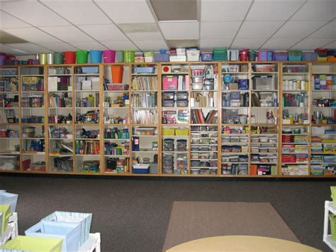classroom walls tip  cover open shelving clutter