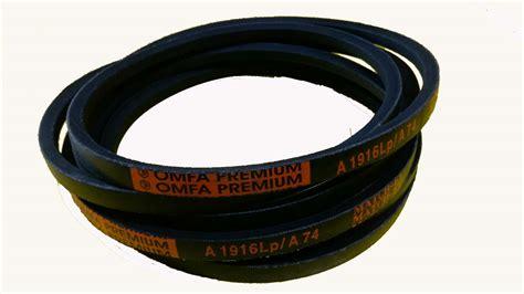 a section v belt omfa premium v belt a 52 sparesswala