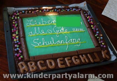 kuchen einschulung einschulung