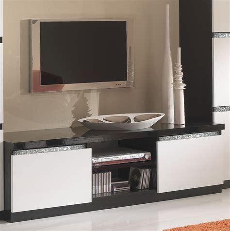 Meuble Blanc Et Noir by Meuble Tv Blanc Et Noir Id 233 Es De D 233 Coration Int 233 Rieure