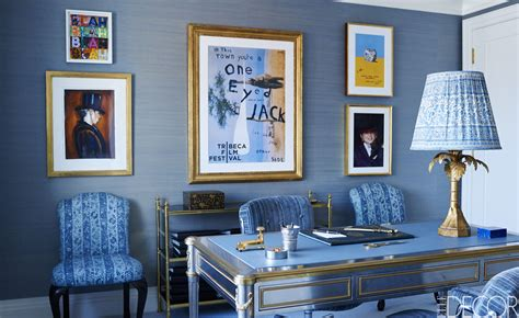 the images collection of wall cream and black home decor dark blue wall design ideas classic gallery and living