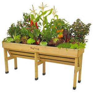 vegtrug wallhugger raised garden planter eartheasy