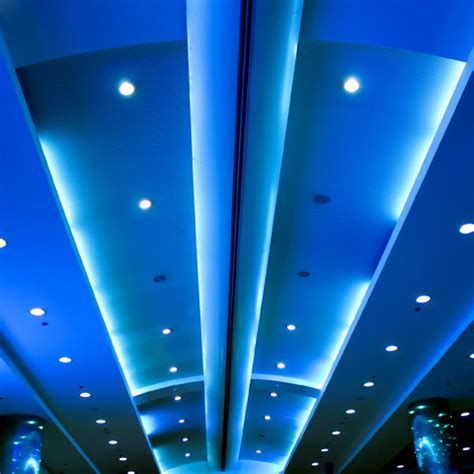 Blue Led Ceiling Lights Led Lighting And Led Rope Lights Ceiling Lighting San Diego By Environmentallights