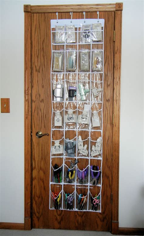 closet door organizers shoe organizer for paper crafting tools judy nolan